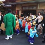 晋山式とはお寺の住職が代替わりする式典。一生に一度のものです …