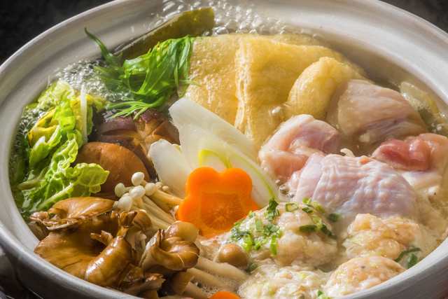 Chicken sumo wrestler's stew
