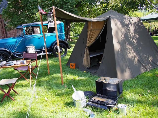 Auto camping