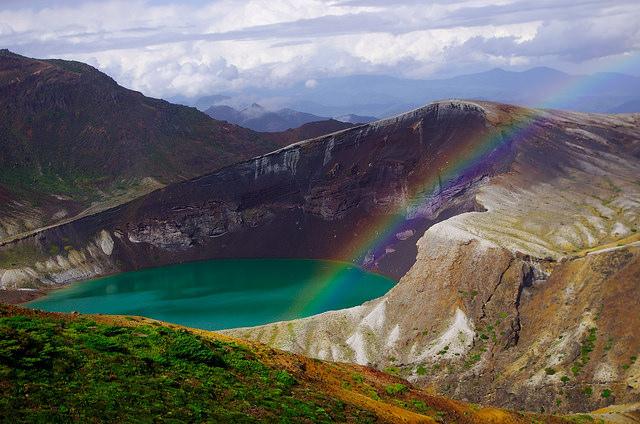 volcano Mount Zao