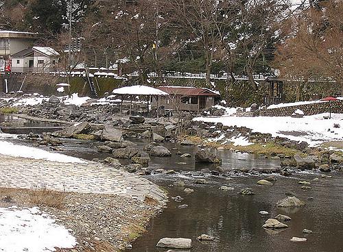 yubara-onsen